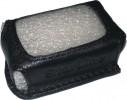 Чехол для брелока StarLine A4/A6/А8  кожа черный