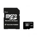 Карта памяти MicroSDHC 8 Gb Silicon Power class 10