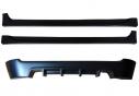 Тюнинг комплект №2 (тюнинг обвес заднего бампера, тюнинг обвес порогов) для Сhevrolet Aveo(хэтчбэк 5 дв.) 2008-2012