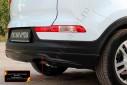 Тюнинг обвес заднего бампера для Kia Sportage 2010—2013