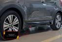 Тюнинг обвес порогов для Kia Sportage 2010—2013
