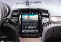 Штатная магнитола Tesla Style на Android 7.1 32/2 Jeep Grand Cherokee цвет черный