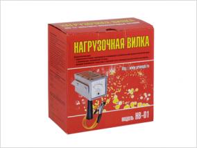 Нагрузочная вилка НВ-01(для проверки АБ,100 А)